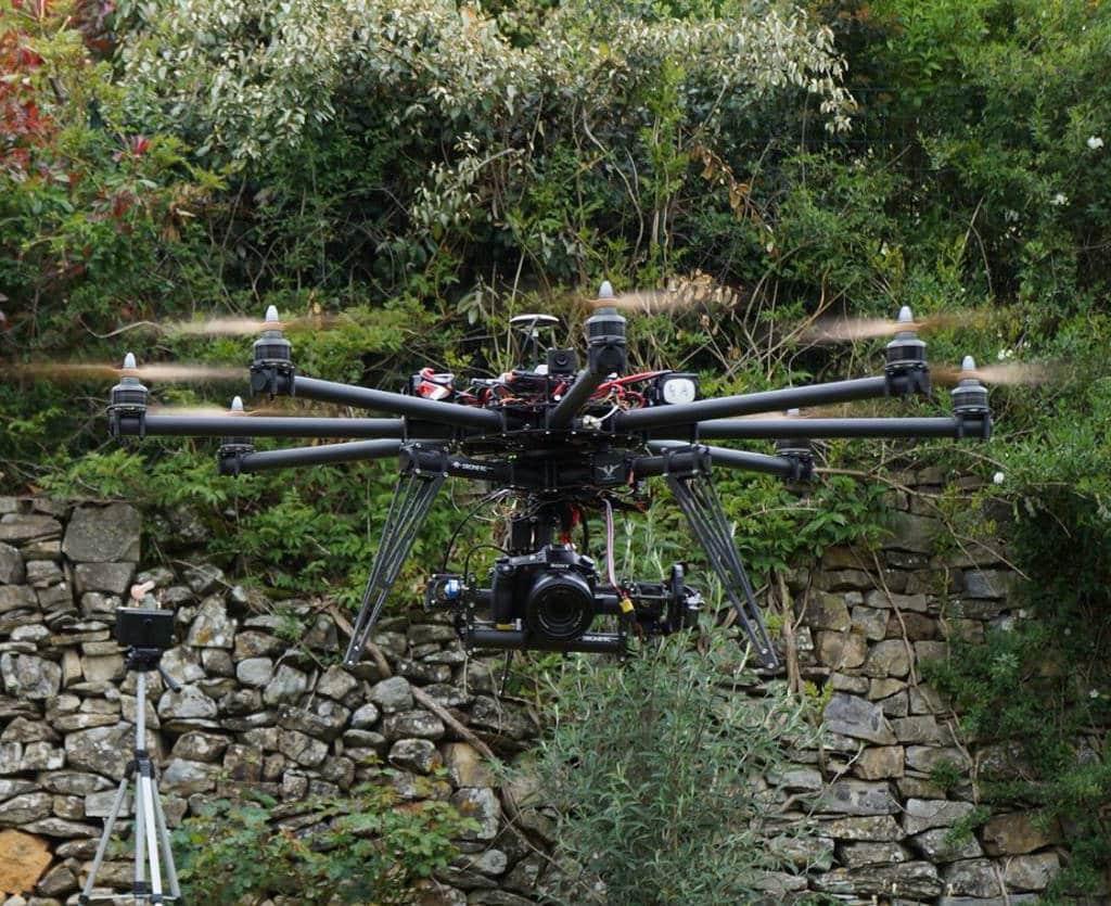 Drone Ardèche photo vidéo prestation