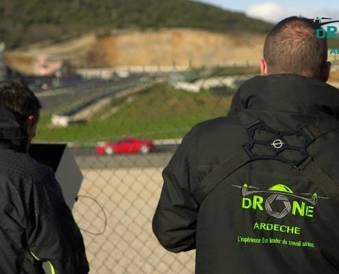 Drone Ardèche pole méca sport mécanique