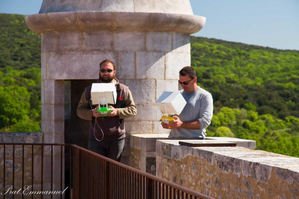 tournage drone-chateau-des-rourre vidéo aérienne