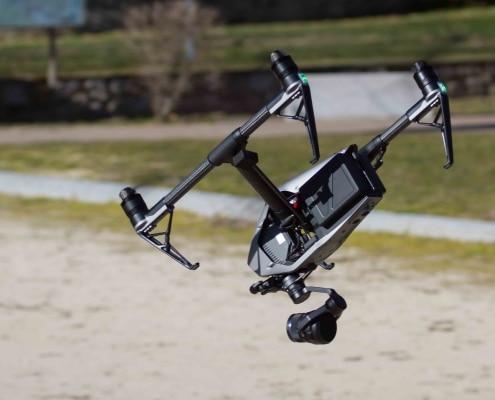Location inspire 2 avec pilote - Prise de vue aérienne - vidéo par drone - photographe par drone