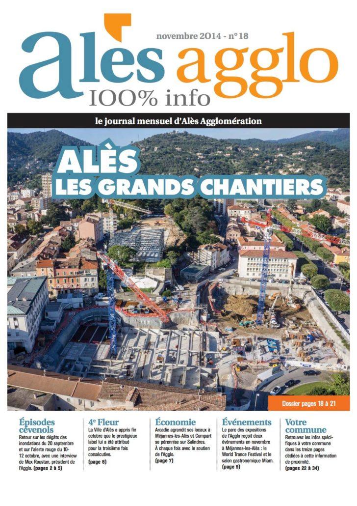 Photo Aeriennes Pour Couverture Magazine A Ales