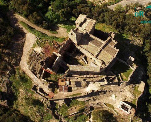 chateau de ventadour drone ardèche