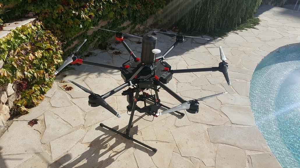 drone gros porteur cinéma photogrammètrie