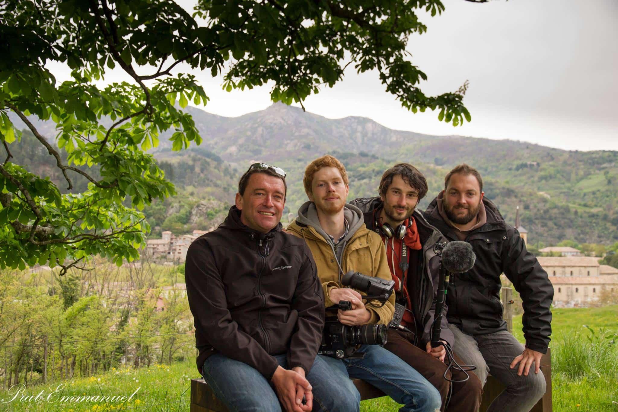 équipe Drone Ardèche prat emmanuel - ingé son - spécialistes en vidéo - Agence de production audiovisuelle - Production vidéo en Ardèche