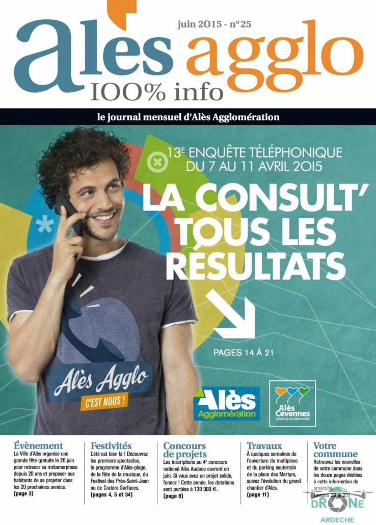 Images Aeriennes Magazine Ales Agglo Journal 11