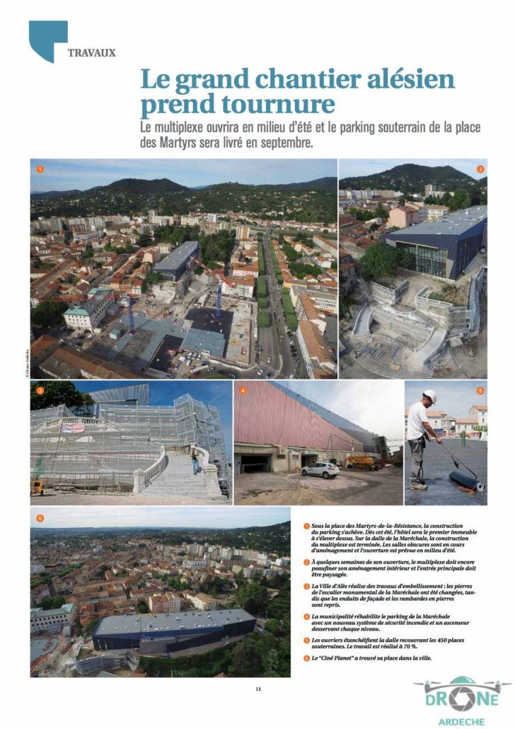 Images Aeriennes Magazine Ales Agglo Journal 13