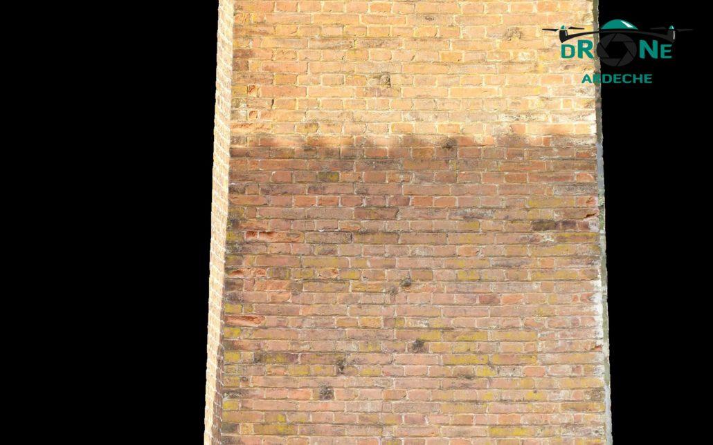 Orthophoto Verticale Par Drone Ardeche