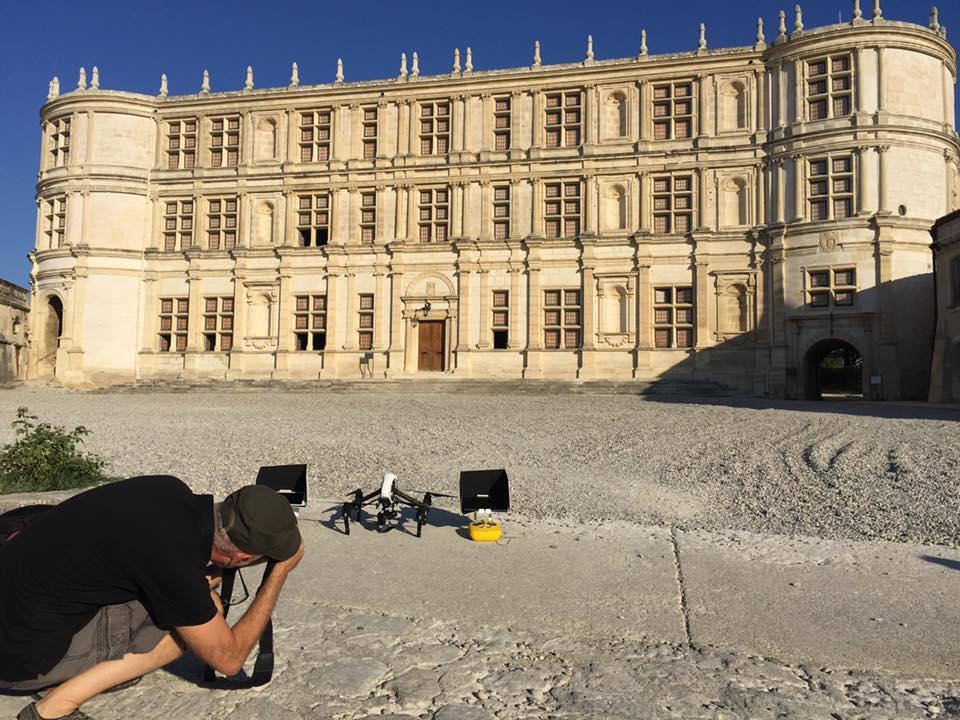 vidéo aérienne-chateau-de-grignan photographe grignan
