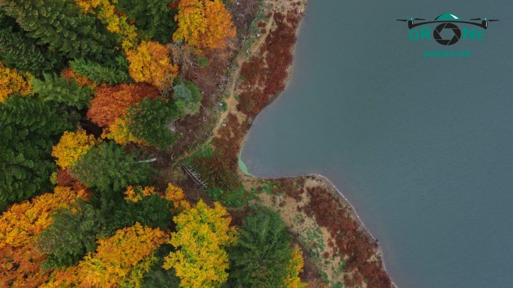 Acquisition De Donnees Par Drone Releve De Rive De Lac Par Photogrammetrie Plan Topographique Berge Lac Par Drone