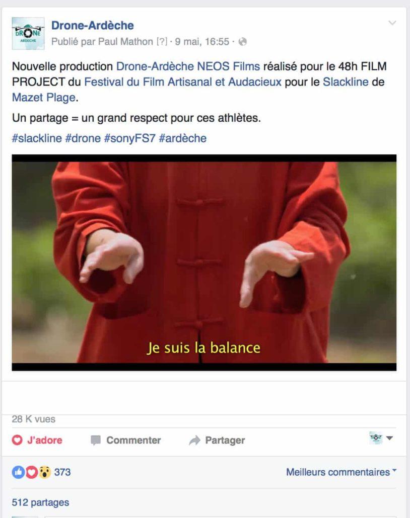 Équilibre Drone Ardèche