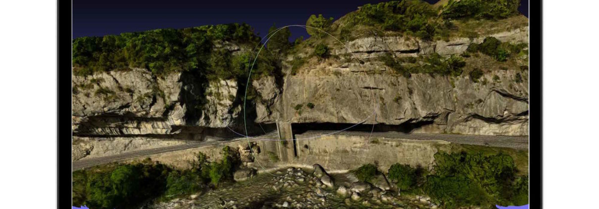 photogrammétrie-falaise-drone