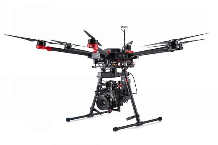 drone Gros porteur pour chef op cinéma