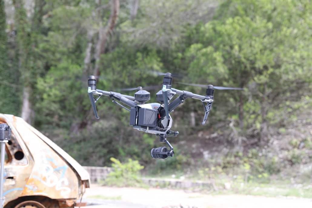 Drone Vaucluse Isle sur Sorgue video aérienne