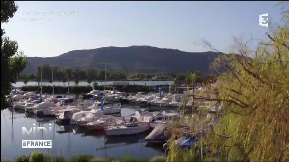 Réalisation Video Drone Audiovisuel Valence Montelimar Drome | vidéo drone de Valence | Prise de vue aérienne du port de l'épervière par drone
