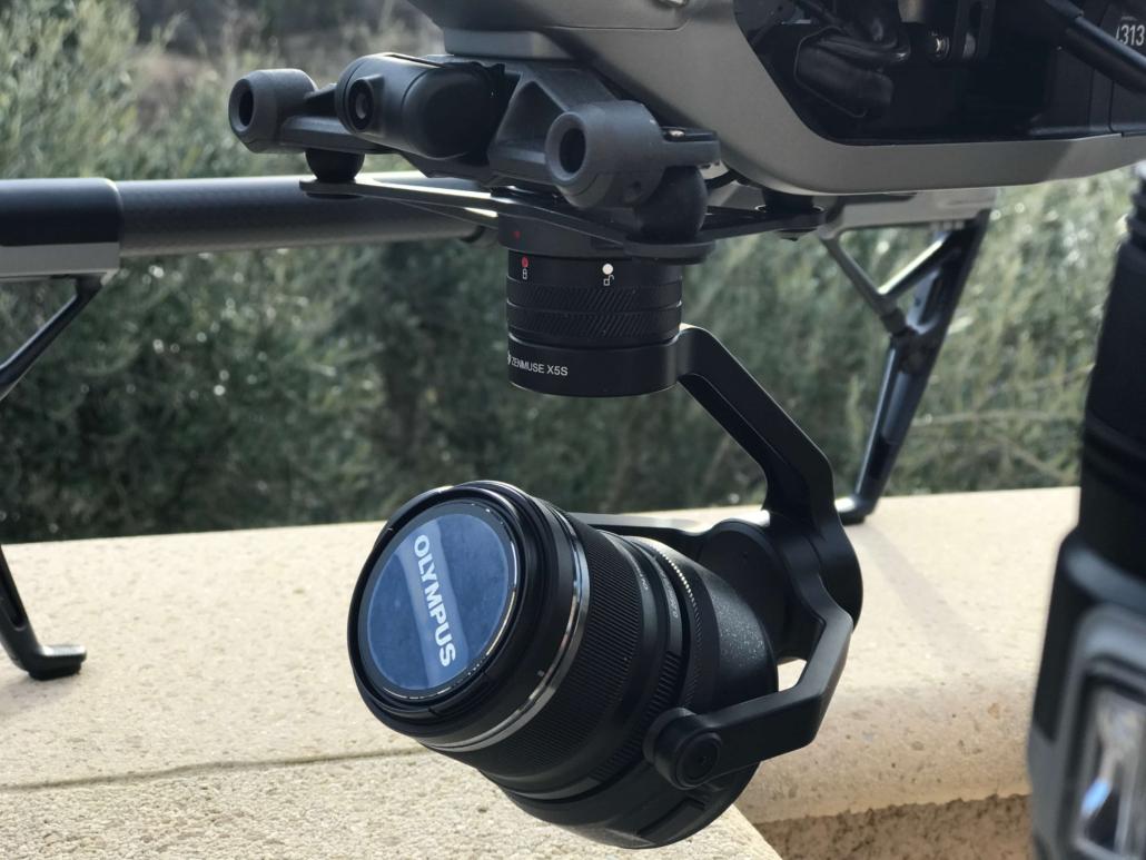 Drone avec une focale longue homologué ville