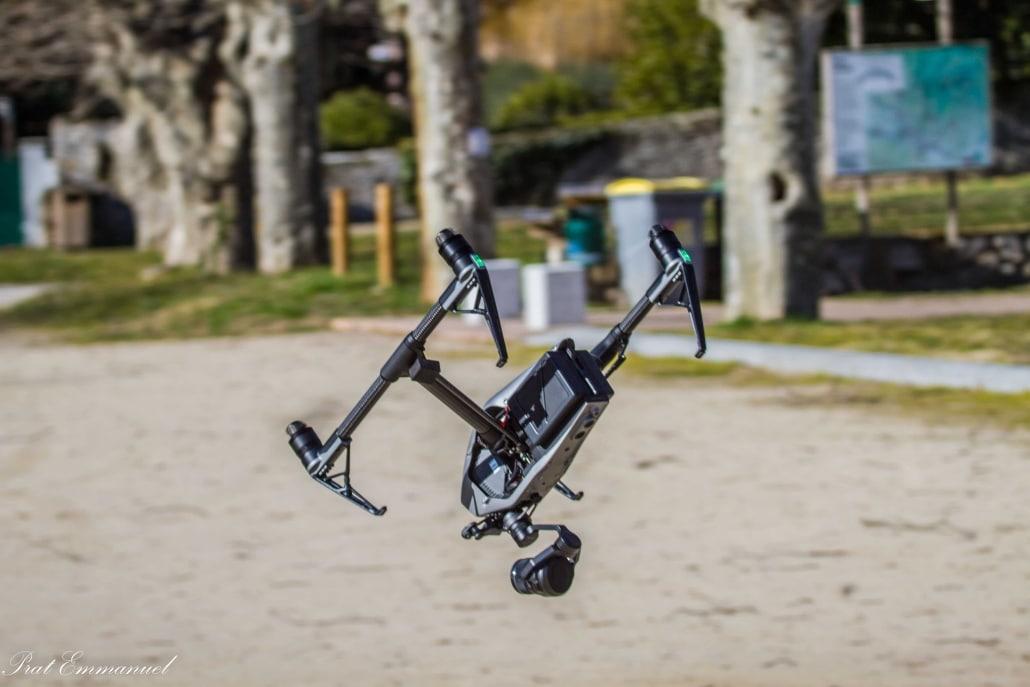drone avec caméra stabilisée
