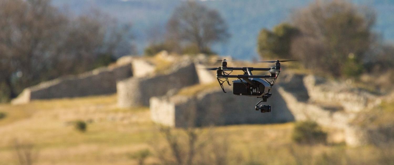 Inspire 2 Photo Par Drone Pour Archeologie