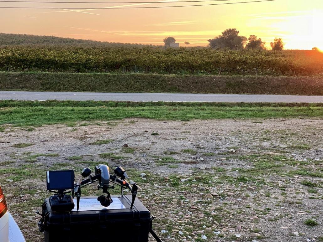 Opérateur Drone Vaucluse Prise Des Vues En Hauteur Vignes De Chateauneuf Du Pape