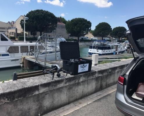 Drone Beaucaire clip, vidéo photo aériennes