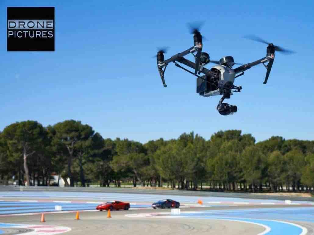 Drone Castellet Drone suivi de vehicule Drone-circuit Paul Ricard Drone Nice