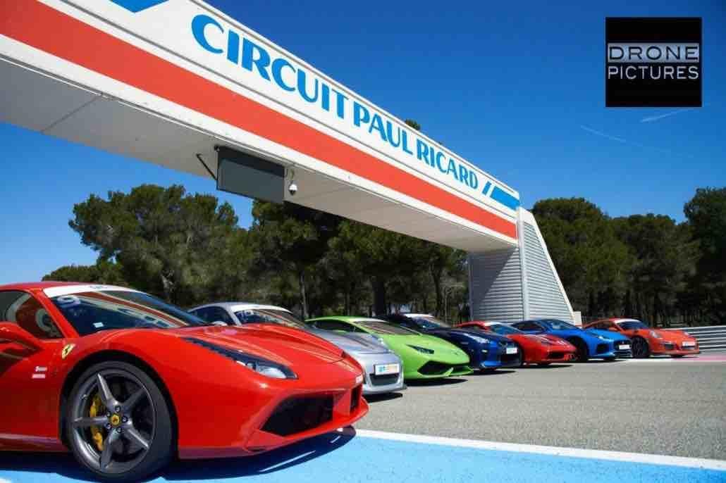 Drone circuit Paul Ricard Professionnel du drone-proche du circuit du Castellet