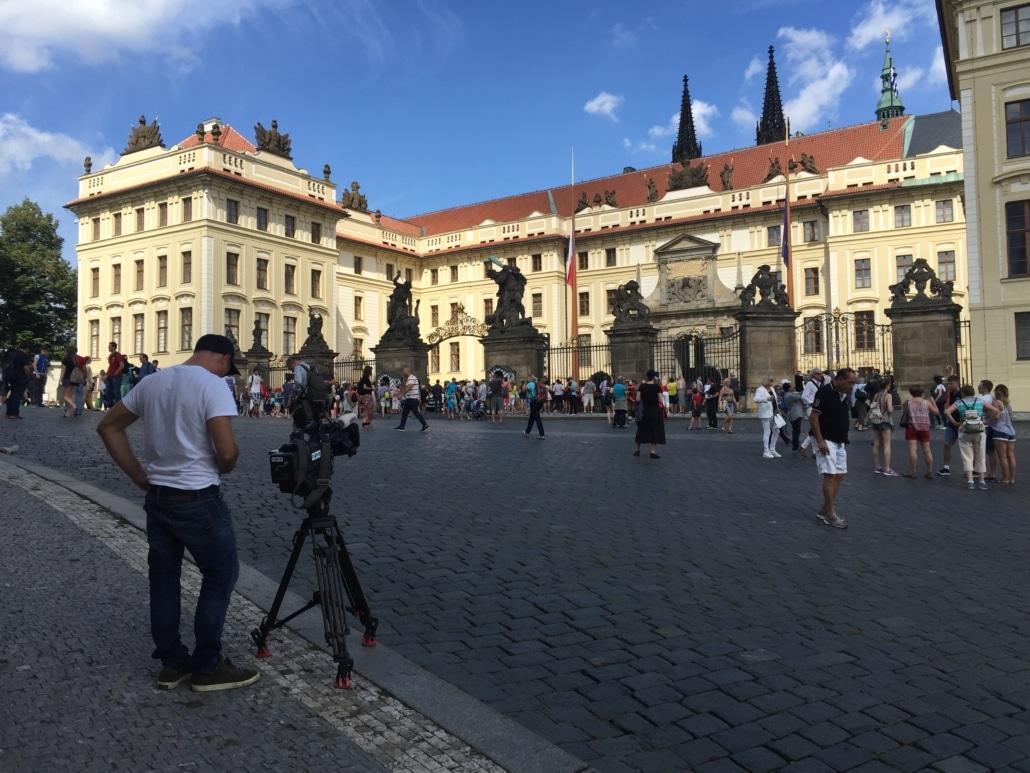 Images drone Prague