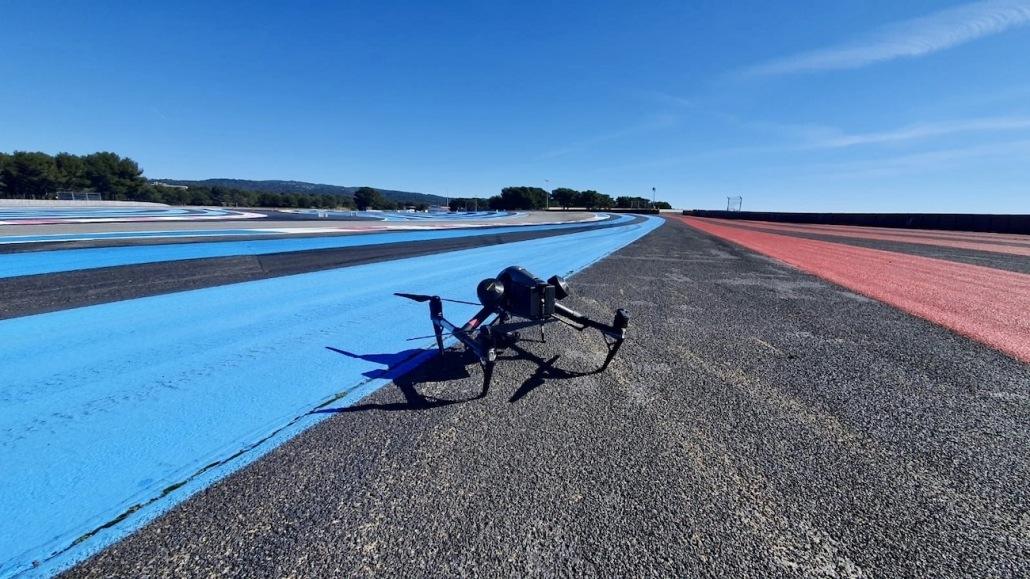 Prise De Vue Drone Circuit Paul Ricard