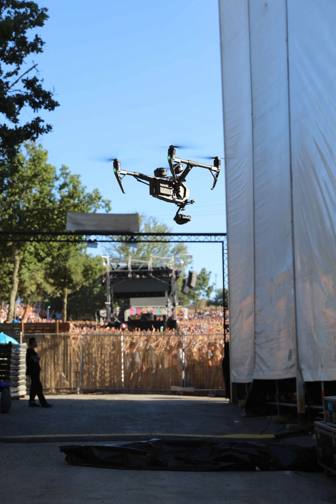 Festvial aluna drone ruoms Ardèche