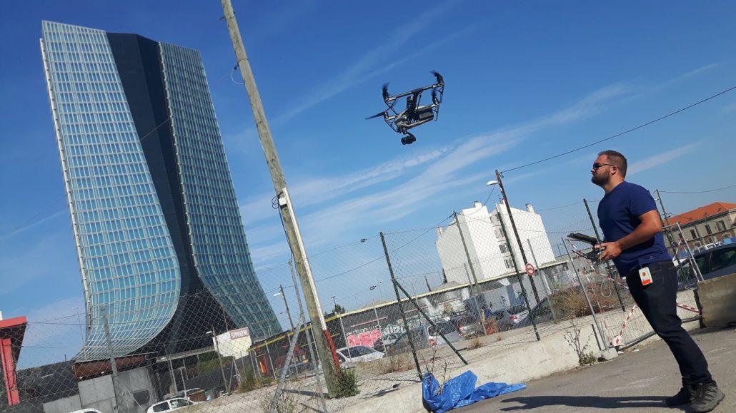 Mission télépilote marseille CMA CGM drone droniste 1