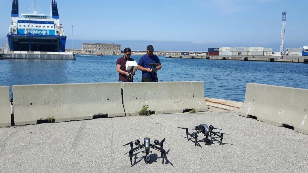 Mission télépilote marseille CMA CGM drone droniste 2