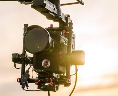Opérateur drone caméra RED Weapon w 1