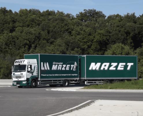 Groupe Mazet vidéo d'entreptrise par drone - vue aérienne d'entreprise - entreprise vue d'en haut