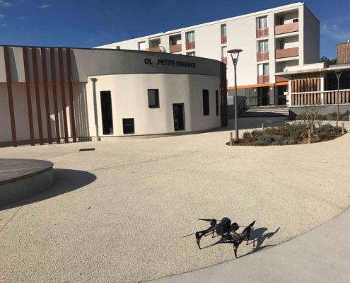 drone donzere film entreprise ardèche - Vidéo par drone - photo drone - Prise de vue aérienne par drone - photographe drone
