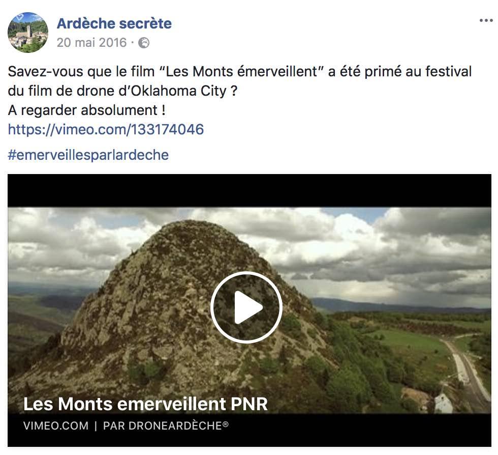 Réalisation de vidéos en Drome