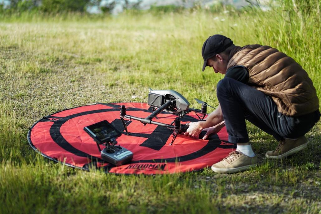 création de vidéo avec drone en auvergne rhone alpes