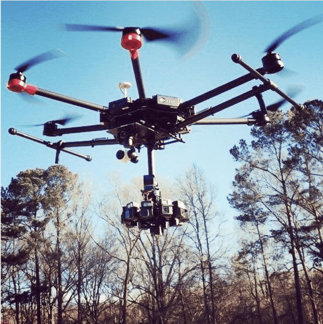 M600 360VR Drone Prise De Vue Par Drone En 360 Realite Virtuelle Par Drone