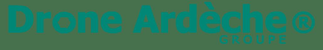Nouveau logo Drone Ardèche prise de vue aérienne