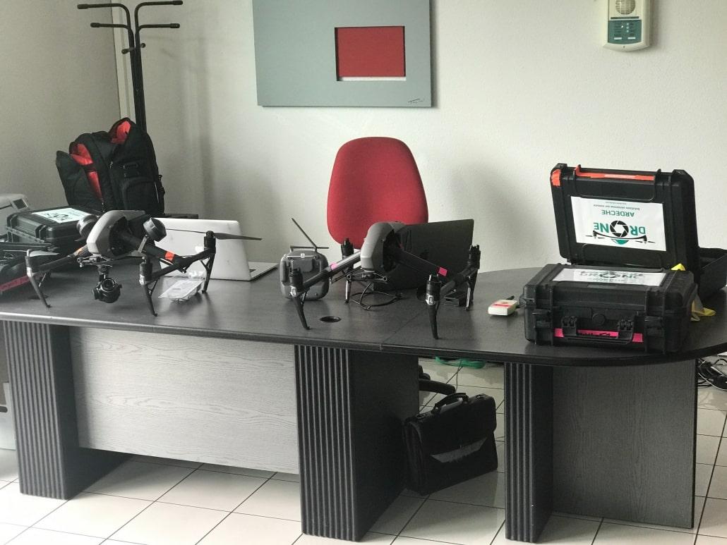 Tournage drone production audiovisuelle pour entreprise Vaucluse Avignon Drome