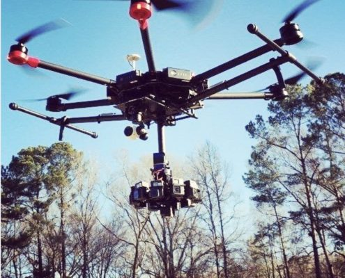 Drone Pour Video 360-Drone Pour 360VR-Video En Realite Virtuelle
