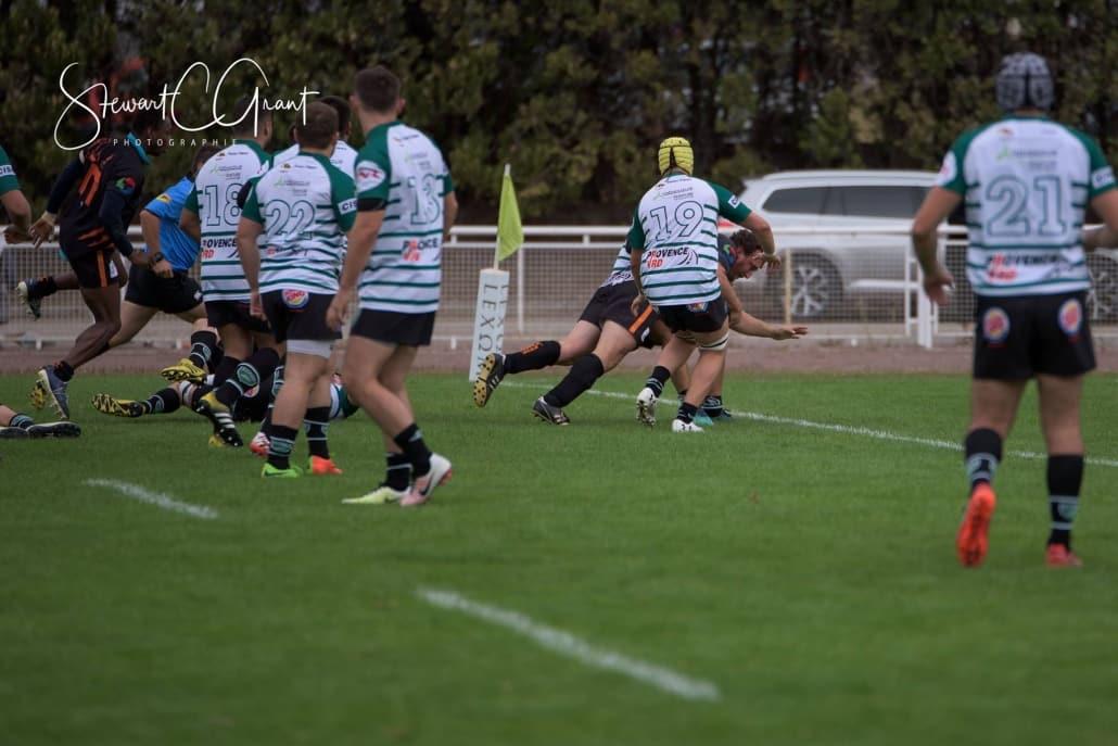match rugby suivi par drone
