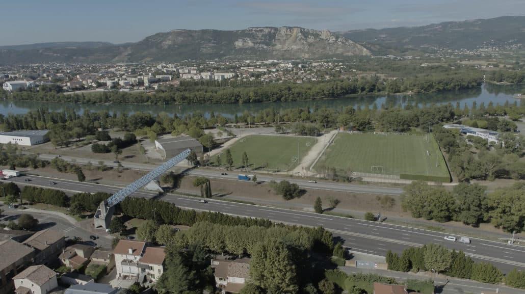 photo drone prise de vue aérienne d'avant projet bourg les Valence-2