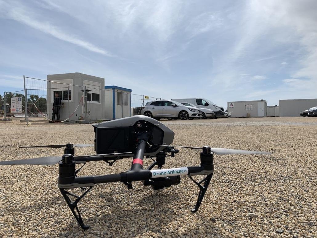 Quel Drone Pour Suivi De Chantier En Prise De Vues Aériennes Dji Inspire 2