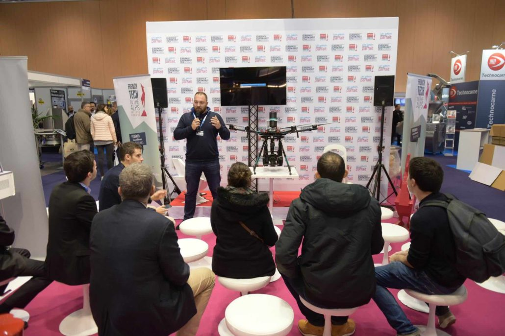 experts en solutions drone à la french tech valence