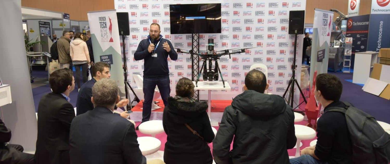 experts en solutions drone à la french tech valence