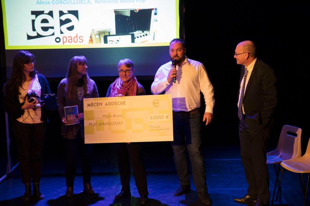mecen'Ardèche Drone Ardèche soutien les projets locaux