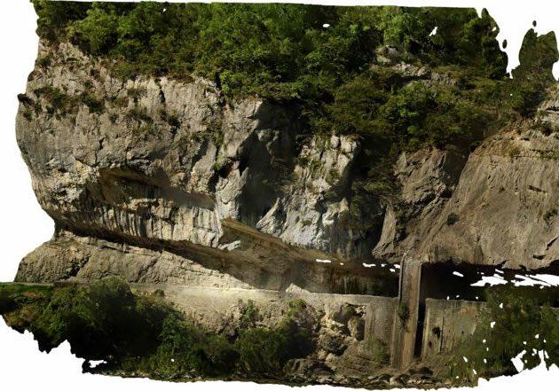 Orthophoto-et-modélisation-de-falaise-par photogrammètrie