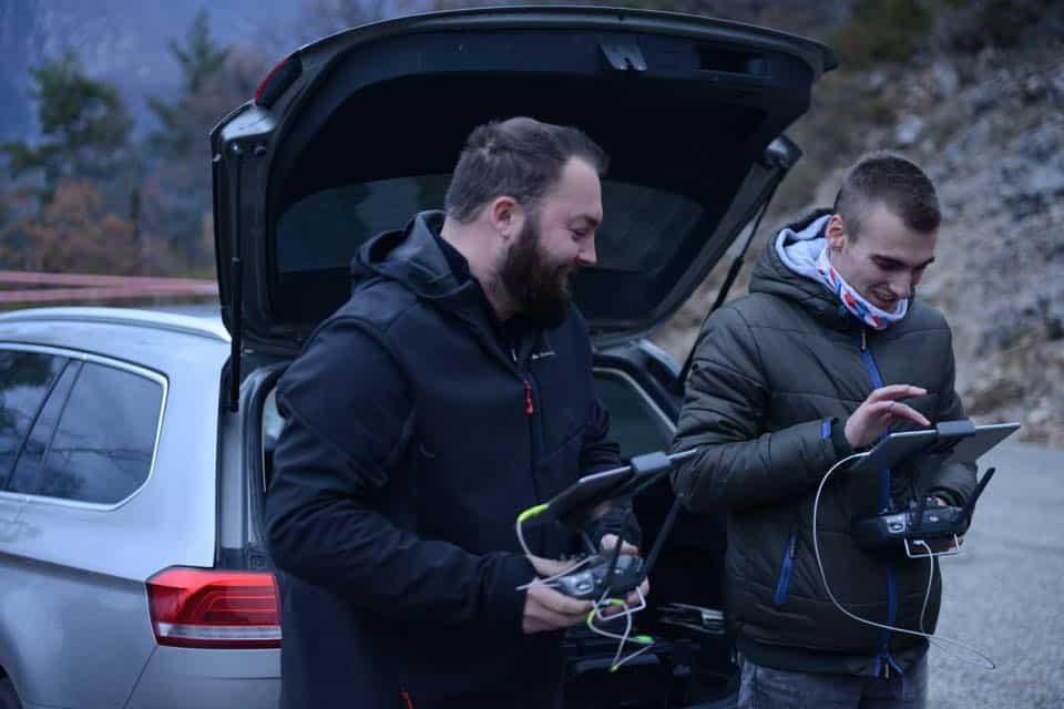 Professionnels du drone spécialisés rallye