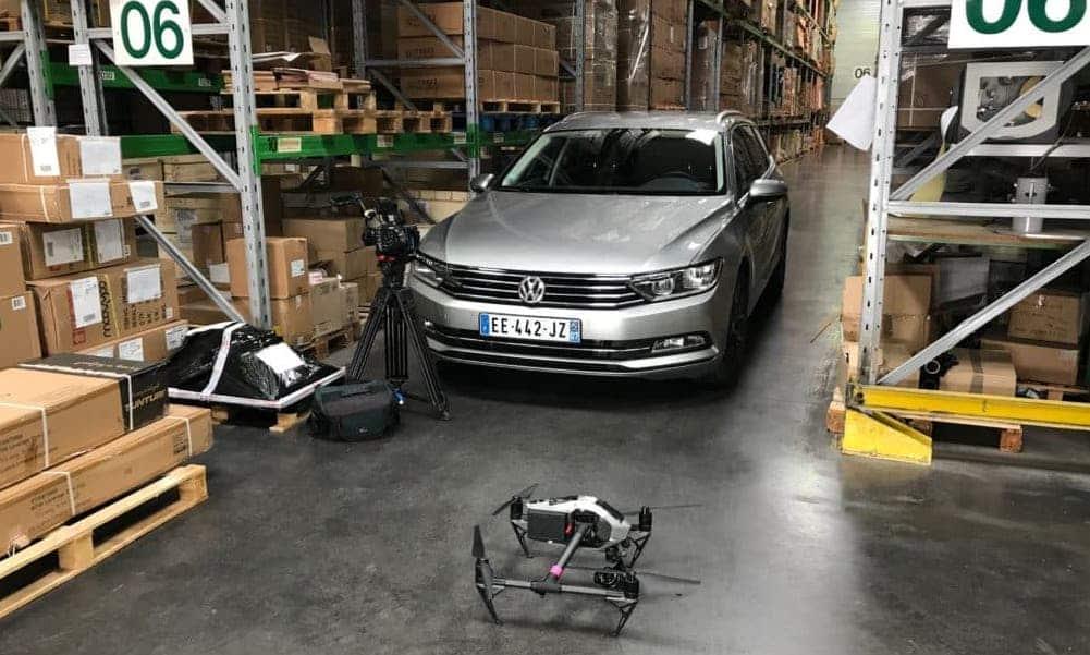 Tournage drone production audiovisuelle pour entreprise Avignon vaucluse