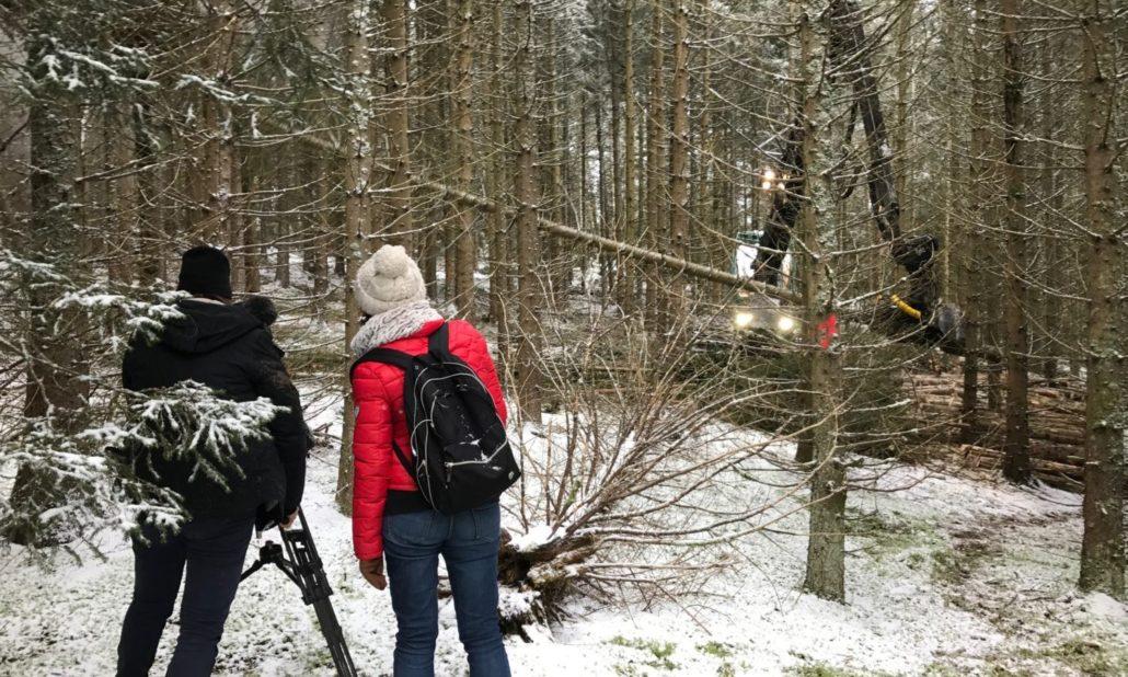 Tournage-télé-TV-france-2-JT-drone