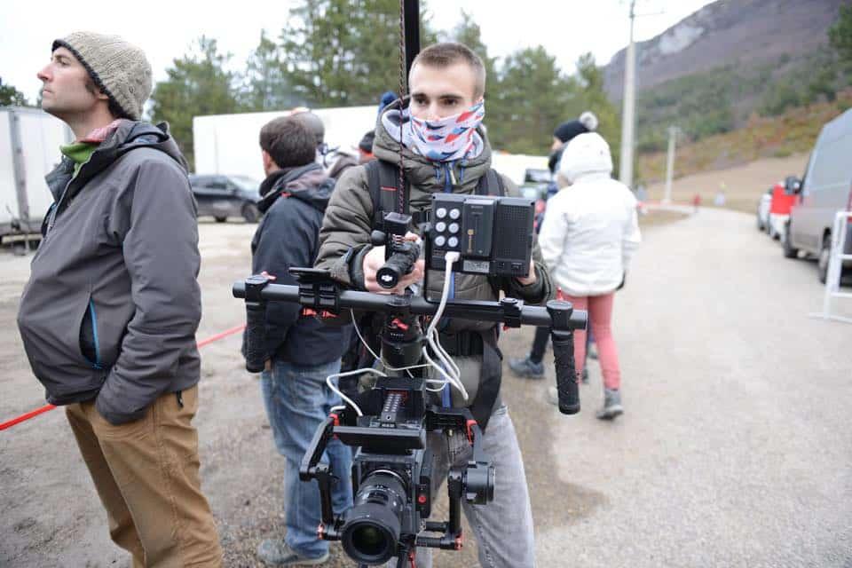 Vidéo de rallye avec sebastien Ogier